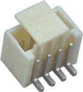 China 1.5mm 1*4P 180°SMT Wafer Wire To Board Connector Sn Plated With CAP wholesale