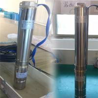 China 0.5 hp ac dc water pump brushless Price of Stainless Steel DC Submersible Solar Pump dc submersible solar pumps on sale