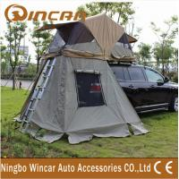 China 4x4 manufacturer waterproof car roof top tent / 260G ripstop canvas  auto roof tent wholesale