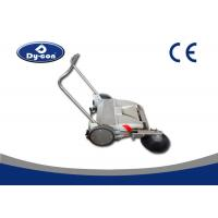 China Electric Industrial Manual Push Vacuum Floor Sweeper For Coarse Road Walk Behind wholesale