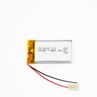 China 380mAh 3.7 V Lithium Ion Polymer Battery Within 1C Rate wholesale