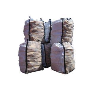China U Type Breathable FIBC Bulk Bags , Cross - Cornor Loops Cement Jumbo Bag wholesale