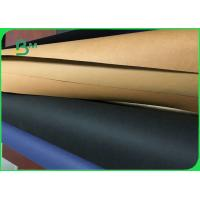 China Custom Printed Washable Kraft Paper Fabric For Jewelry Hang Tag Multifunction wholesale