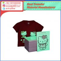 China A4 fluorescent luminious inkjet glow in the darkness  heat transfer paper on sale