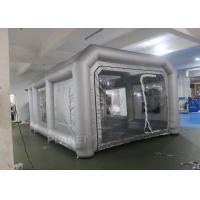 China Environmental Mini Blow Up Spray Booth For Car Cover / Automotive Paint Booth wholesale