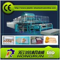 China 4000pcs/hr Pulp Moulding Egg Tray Machine , Egg Tray Forming Machine wholesale