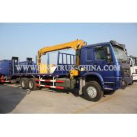 China 336HP Construction Boom Truck Crane With 12000kg Max Lifting Capacity wholesale