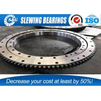 China High Hardness SUMITOMO SH240-5 Excavator Slew Ring Without Gear Bearing wholesale