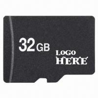 China Memory Stick/Micro SD Card, 1 to 32GB, 15Mbps High-reading Speed, Customized Logos and Packing wholesale