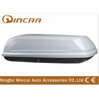 China Single Open Black Car Roof Boxes in ABS Material 380L Capacity , 3mm ABS board wholesale