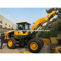 China 938 Wheeled Frond End Loader With 40km/H Max.Speed Of Yj315 Transmission Grab Fork As Optional wholesale