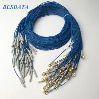 China Portable EEG Gold Cup Electrodes For Brain Activity Monitoring Machine wholesale