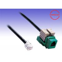 China RJ11 female to RJ11 cable adaptor Network Cable Telephony Voice Wiring on sale