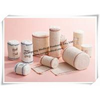 China Medical Firm Crepe High Stretch Compression Bandage For Emergency Injuries First Aid Treatment wholesale