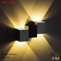 China 3000K 6W indoor Green and Blue LED wall light for corridor and for spa shop wholesale