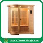 China Fashion Cedar Infrared Sauna Cabin with CD Player(ISR-06) wholesale