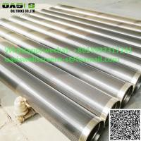 China China supplier Johnson screen pipe water well screen continuous slot wire wrapped stainless steel screen wholesale