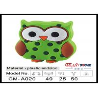 Mr.Owl Rubber Kids Bedroom Knobs , Soft Plastic Knobs For Children's Furniture