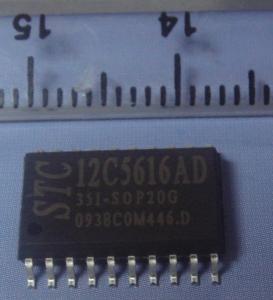 China STC Programing Microcontrollers 12C5616AD-35I-SOP20 wholesale