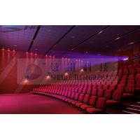 China Motion Theater Chair Cinema 3D System With Projectors / Sound System wholesale
