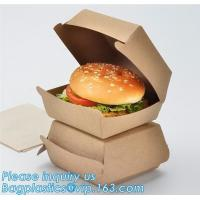 China Custom,food grade and good printing shipping humberger box for sale,Paper bag for bread or cake or humberger bagease pac wholesale