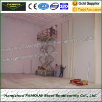 China High Airtightness Insulated Sandwich Panels Aluminized For Seafood Cold Room wholesale