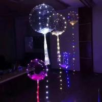 Buy cheap New hot party decoration bobo balloon light halloween wedding led light up balloons from wholesalers