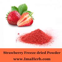 food additive freeze dried strawberry powder free sample from Felicia@imaherb