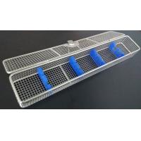 China No Welded Joint Endoscope Sterilization Tray , Surgical Instrument Trays Stainless Steel on sale