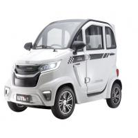 China wholesale 45km/h two seats middle steering EEC new energy four wheel electric car for adults on sale