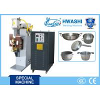 China Stainless Steel Cook Pot Welding Machine , Handle Bracket Spot Welding Machine on sale