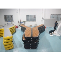 China Water Game Rentals Inflatable Platform Floating Y Docks Inflatable Water Toys For Kids And Adults wholesale