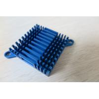 China Blue Air Cooling Aluminium Heat Sink Profiles / Casting And Forging Heat Sink wholesale