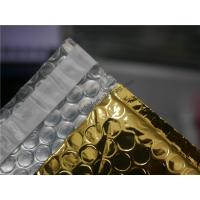 China Gold Metallic Padded Envelopes , 260x350 #A4-2VD Foil Bubble Wrap Envelopes wholesale