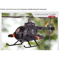 China FX070C 2.4G 4CH 6-Axis Gyro Flybarless MD500 Scale remote control Helicopter rc toy on sale
