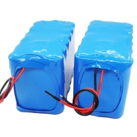 China 11.1V 10Ah 18650 Rechargeable Lithium Battery 12.6V Charging wholesale