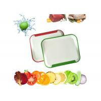 China Custom Plastic Cutting Board , Easy Cleaning Kitchen Chopping Board wholesale
