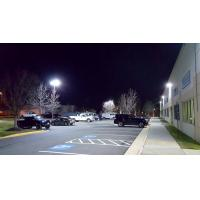 China 120lm / w Ultra slim Led Parking Lot Lights , warehouse parking lot lamps wholesale