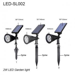 China 3W IP65 exterior LED solar lawn light & led garden light/led lights for park wholesale