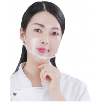 Buy cheap Anti Fog Transparent Mouth Cover For Hotel Kitchen from wholesalers