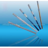 China 2 Section Telescopic Cleaning Pole Aluminum Material Blue Color 1.1mm Thick wholesale