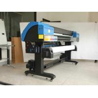China Soft 3.2M Large Format Eco Solvent Printer With Tension Feeder System and sensor wholesale