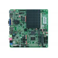 China Fanless thin mini-itx all in one pc Motherboard Bay Trail platform Celeron J1900 CPU wholesale