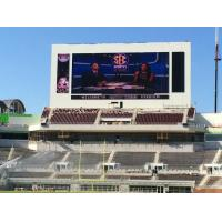 China Sport P10 Stadium Led Display Screen / Full Color Led Signs Outdoor 3g 10000k wholesale