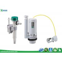 China Cable Operated Toilet Flush System Toilet Cistern Fittings With Side / Bottom Fill Option wholesale