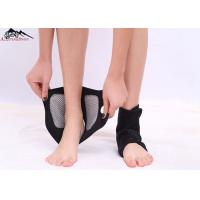 China Magnetic Stone Self Heating Tourmaline Belt , Ankle Support Brace Elastic Nylon Fabric Cloth on sale