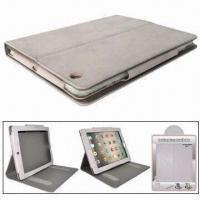 China Leather Case for iPad 2, with Stand Function, Different Colors are Available wholesale