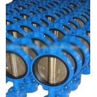 """China Flange / Butt Welding End Connection 2"""" - 64"""" Wafer Stainless Steel Butterfly Valves wholesale"""