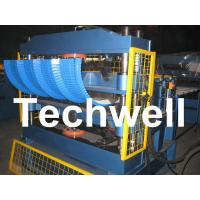 China PLC Computer Control Custom Roof Panel Curving Machine To Curve Finished Roof Panel wholesale