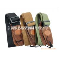 China High-Grade Cotton Thick Leather Head General Guitar Strap wholesale